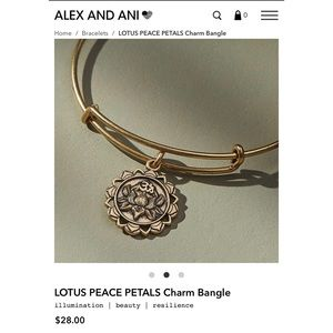 Lotus Peace Petals Bangle